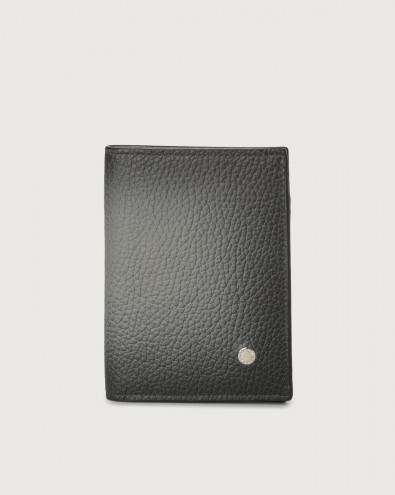 Micron Deep leather vertical wallet