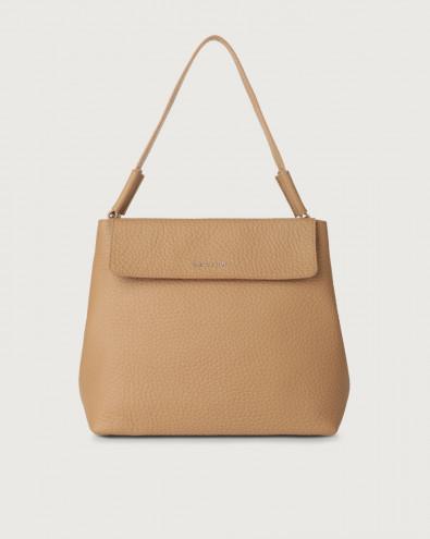 Uma Soft leather shoulder bag