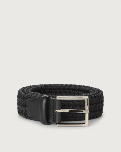 Sheen Elast braided fabric belt