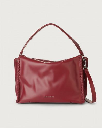 Twenty Big Mesh leather shoulder bag