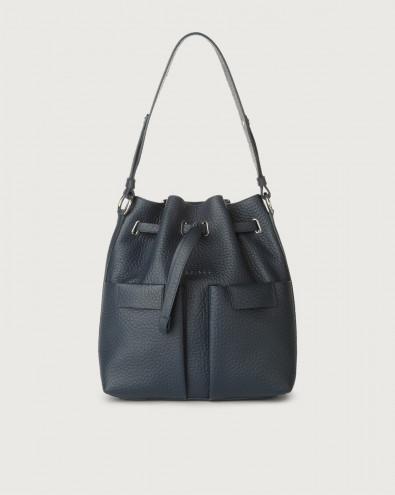 Tessa Soft medium leather bucket bag