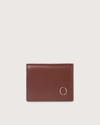 Liberty small leather wallet with zip with card holder