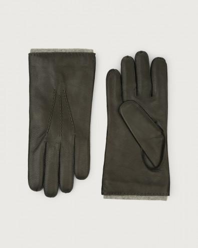 Cervo leather gloves