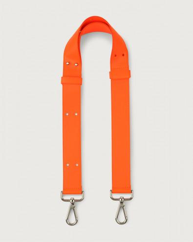 Fluo adjustable leather strap
