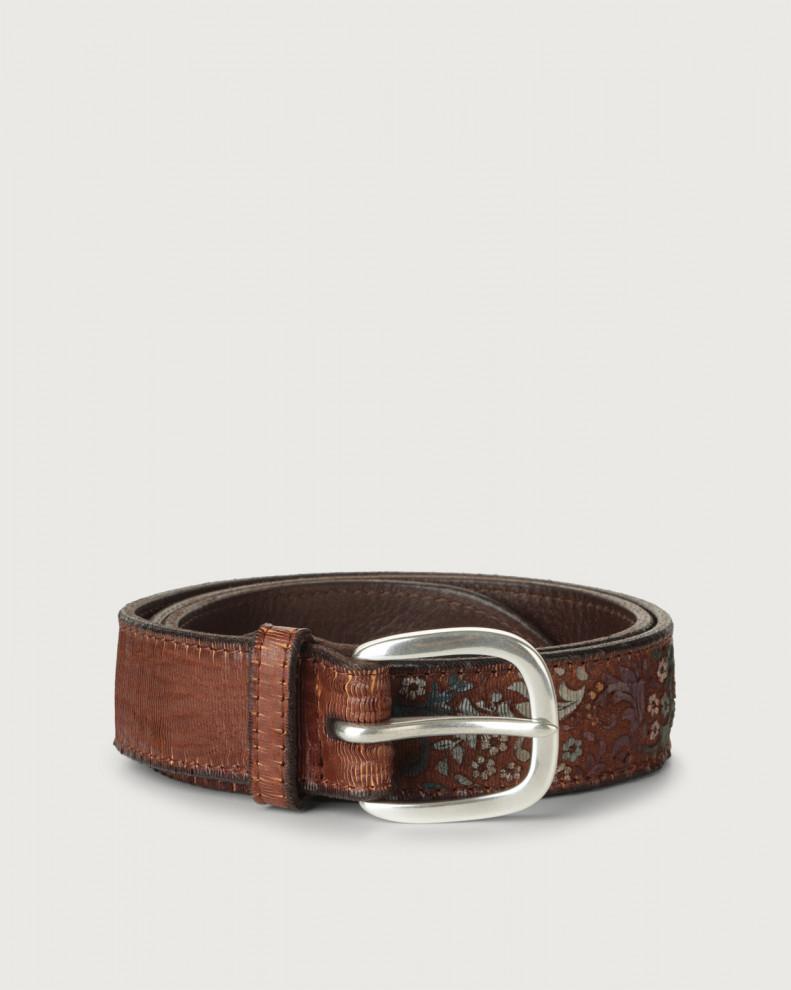 Persian leather belt
