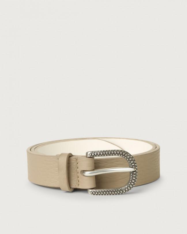 Orciani Soft leather belt Leather Sand