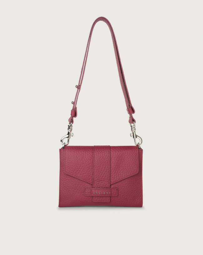 Orciani Soft leather mini bag Leather Purple