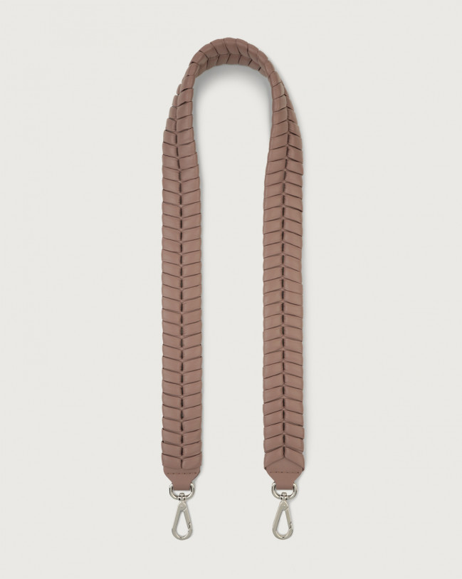 Orciani Liberty leather strap Leather Pink taupe