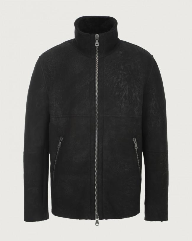 Orciani Aspen shearling jacket Shearling Black
