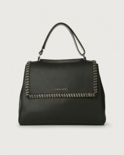 Sveva Chain medium leather shoulder bag