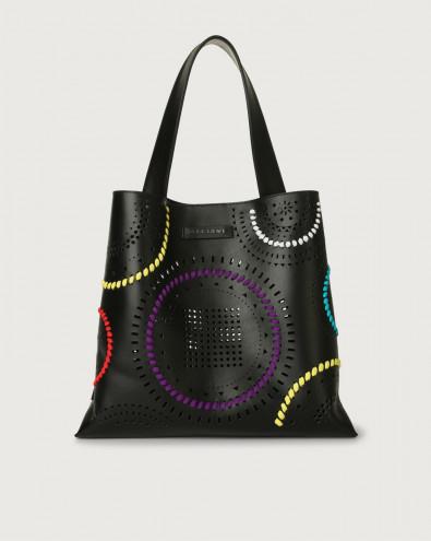 Jackie Carioca leather shoulder bag
