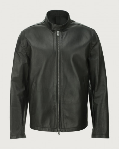 Nappa Nature leather biker jacket