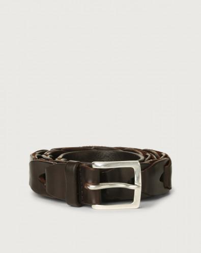 Bull Soft chain like leather belt