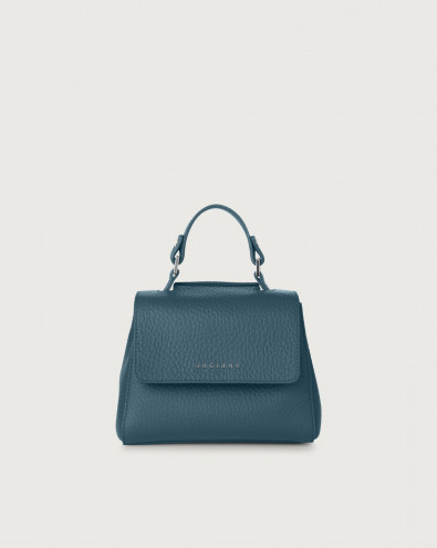 Sveva Soft mini leather handbag with strap