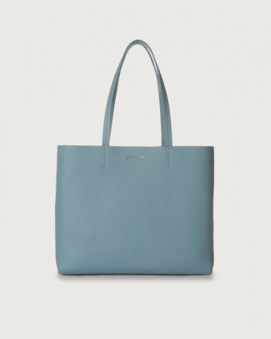 Le Sac Soft small leather tote bag