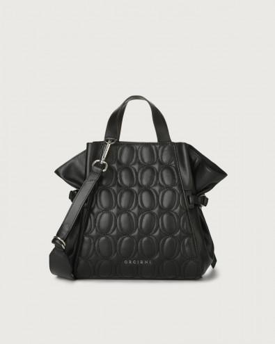 Fan Matelassé small leather handbag
