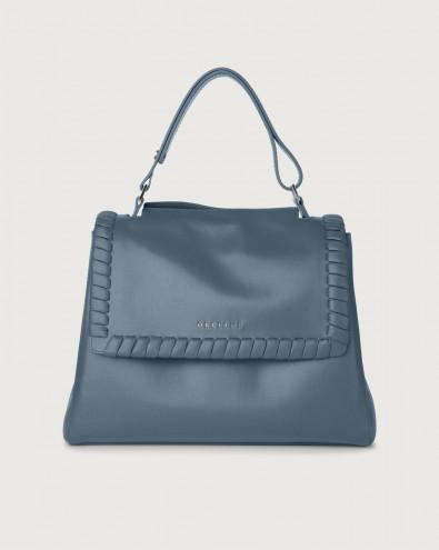 Sveva Liberty medium leather shoulder bag with strap