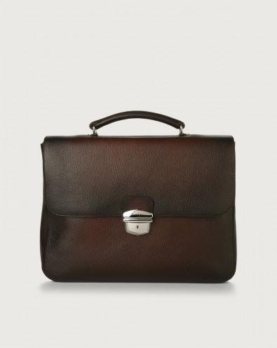 Micron Deep leather work bag