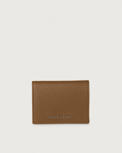 Soft small leather wallet with RFID
