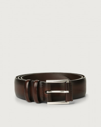 Buffer leather belt