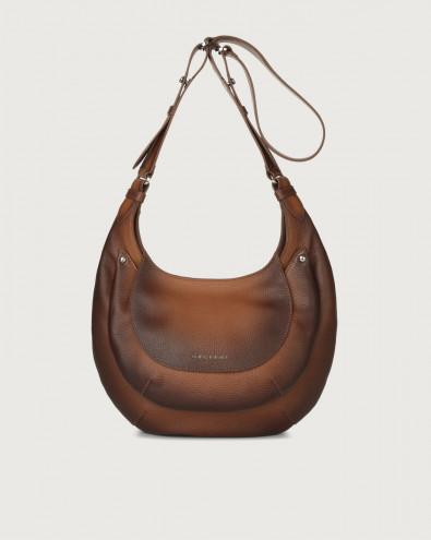 Gipsy Micron Deep leather crossbody bag