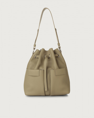 Tessa Soft medium leather bucket bag