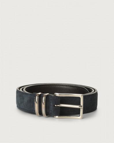 Amalfi suede belt 3 cm