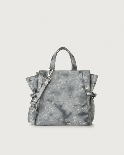 Fan Caleido medium leather handbag