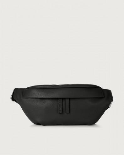 Micron leather belt bag