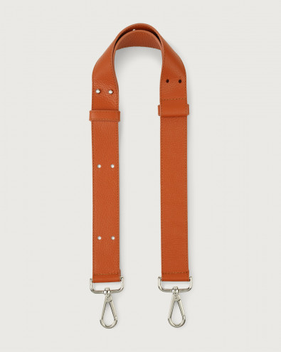 Micron adjustable leather strap
