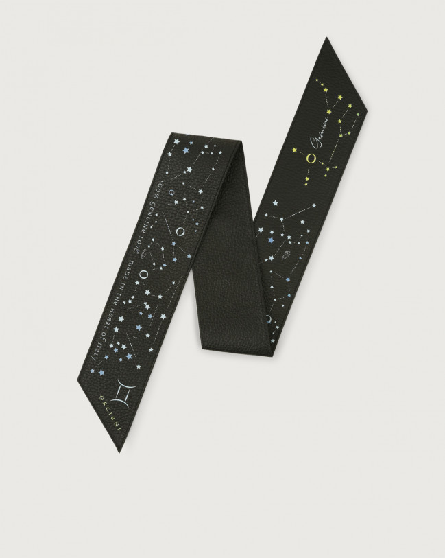 Orciani CosmoLova leather foulard Leather Gemini