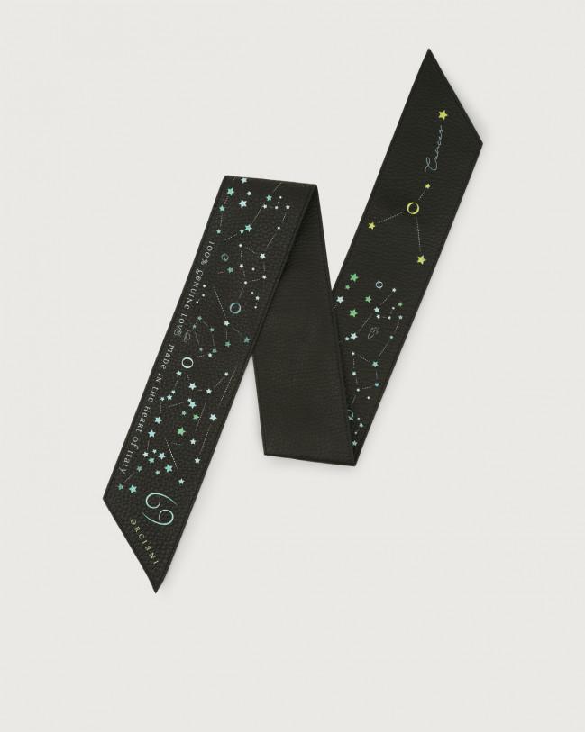 Orciani CosmoLova leather foulard Leather Cancer