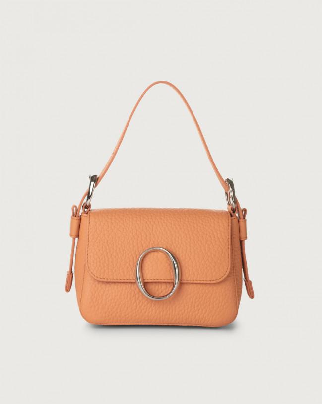 Orciani Soho Soft leather mini bag with strap Leather Fard
