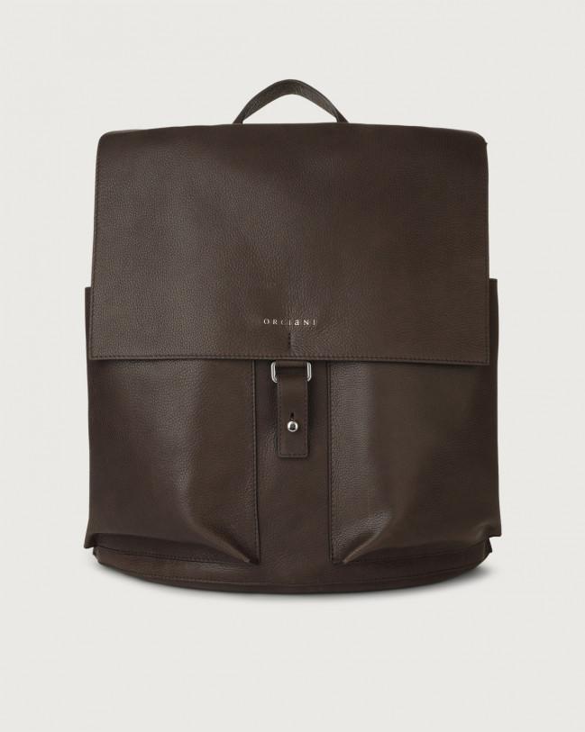 Orciani Chevrette nabuck leather backpack Nabuck Chocolate
