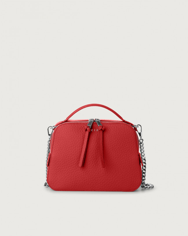 Orciani Soft leather mini bag Leather Marlboro red