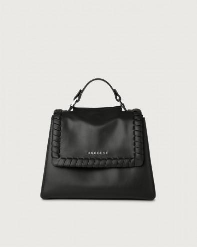 Sveva Liberty small leather handbag with strap