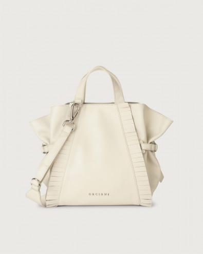 Fan Liberty Fringe small leather handbag