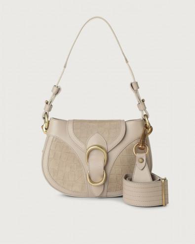 Beth Coco small suede shoulder bag