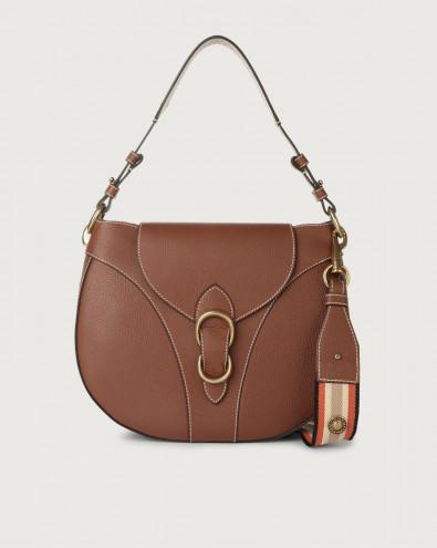 Beth Fanty large leather shoulder bag