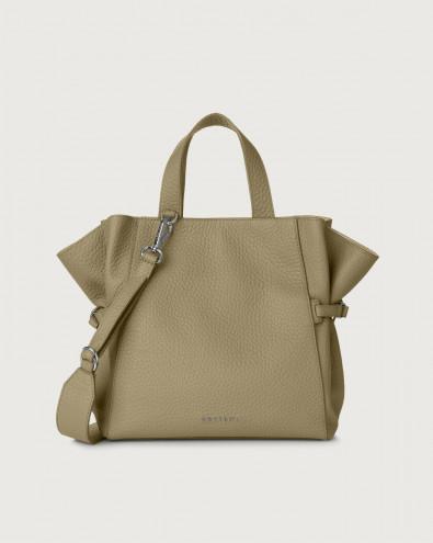 Fan Soft medium leather handbag