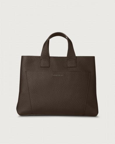 Nora Soft large leather handbag