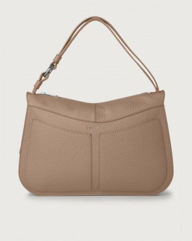Ginger Soft large leather shoulder bag