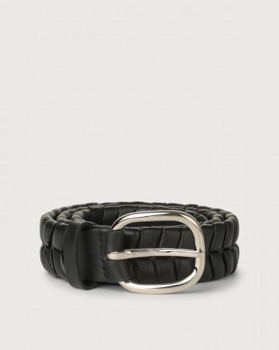 Liberty leather belt 4 cm