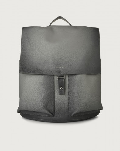 Micron Deep leather backpack