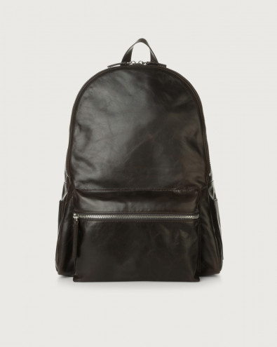 Artik leather backpack