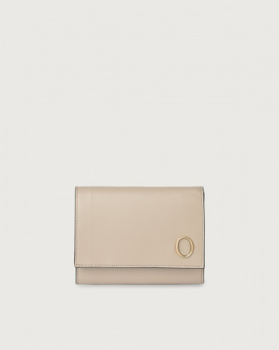 Liberty small leather envelope wallet with RFID
