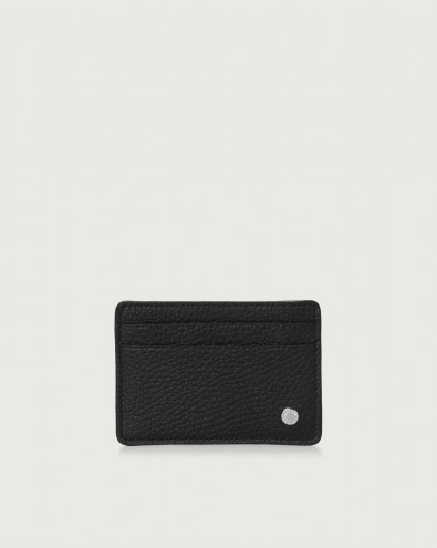 Micron leather card holder with RFID