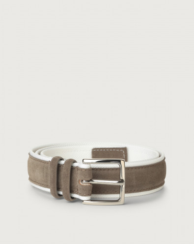 Amalfi Active suede and fabric belt