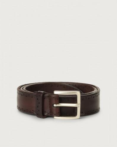 Bull Soft leather belt