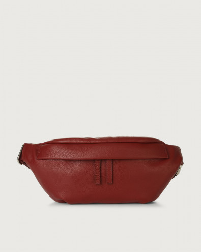 Micron leather belt bag